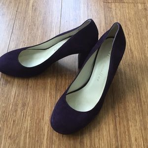 NWOT Bettye Muller Suede Pumps Heels